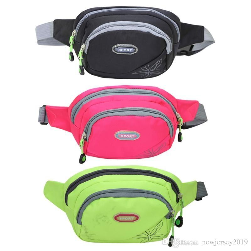 3148fdf911 2019 Outdoor Waist Bag Sports Multi Function Bum Bag Fishing Cycling Travel  Camping Hiking Waistbag Running Chest Wallet Pack Bags  138280 From ...