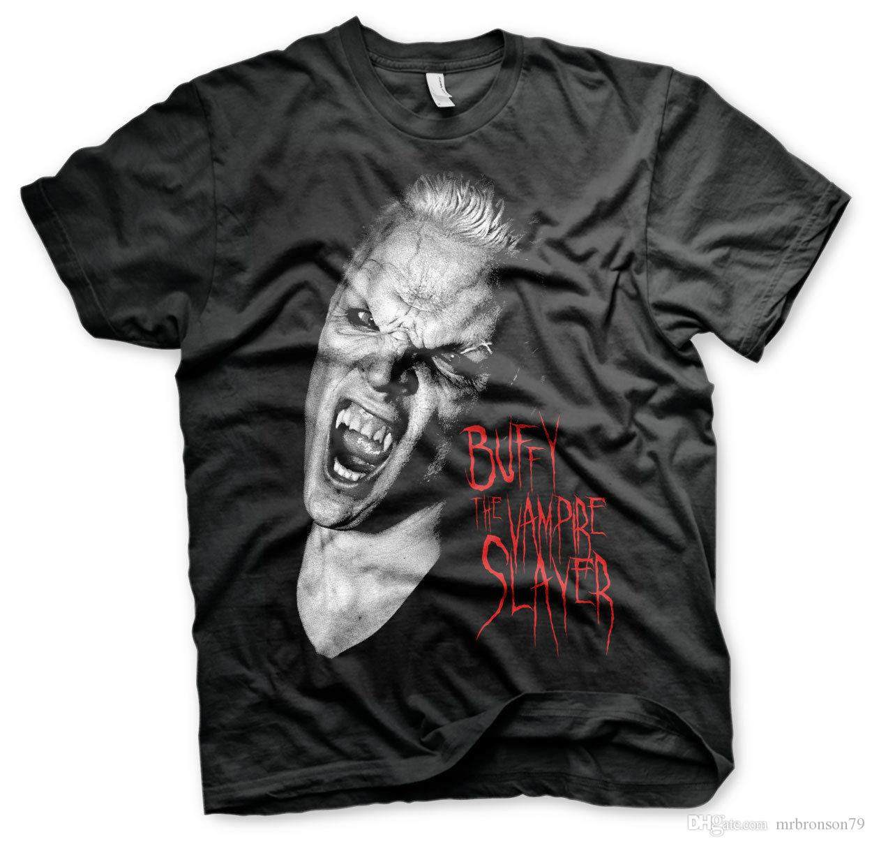 Buffy The Vampire Slayer - Camiseta oficial de Spike para hombres con licencia S-XXL