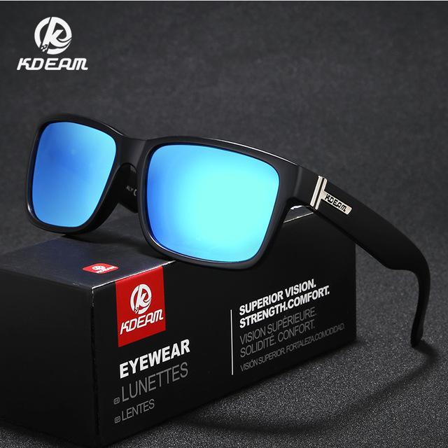 020fe12b8d Compre KDEAM Marca Para Hombre Gafas De Sol Polarizadas Conductor Gafas De  Sol Mujer Rectángulo Vintage Anti UV Gafas Gafas Con Estuche KD505 A $42.52  Del ...