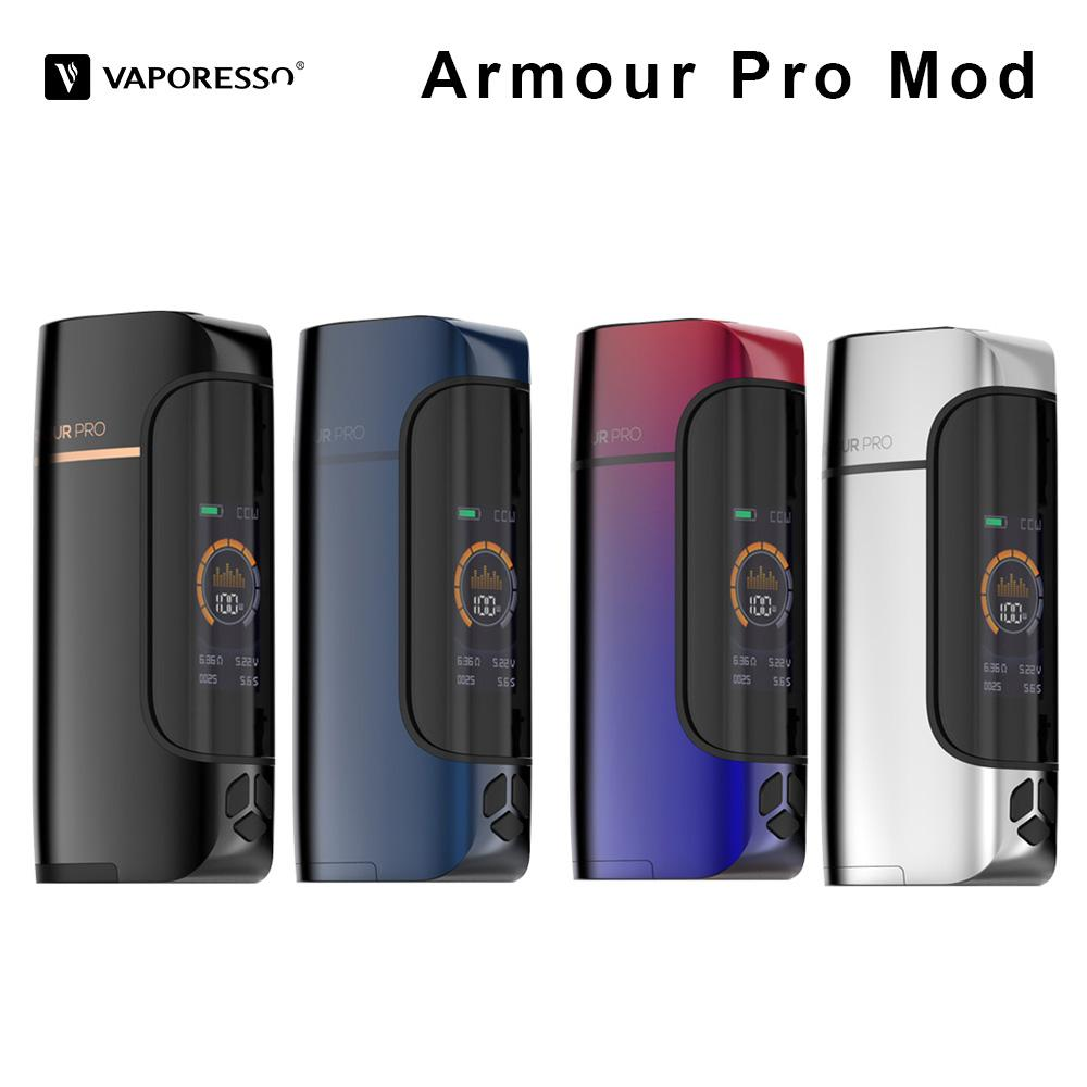 Original 100W Vaporesso Armour Pro Mod Electronic Cigarette Box Mod Fit for  Cascade Baby Tank VS Vaporesso revenger Vape