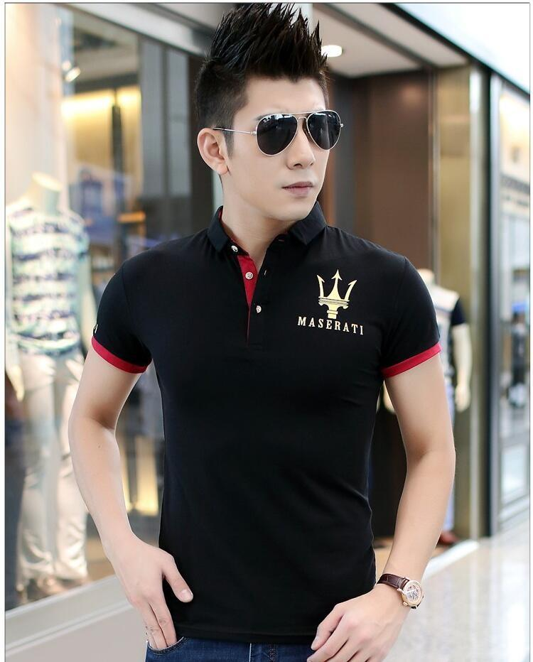 Summer Fashion Casual Black White Short sleeve T-shirt Top Cotton Men New shirt T-Shirts Size M-6XL