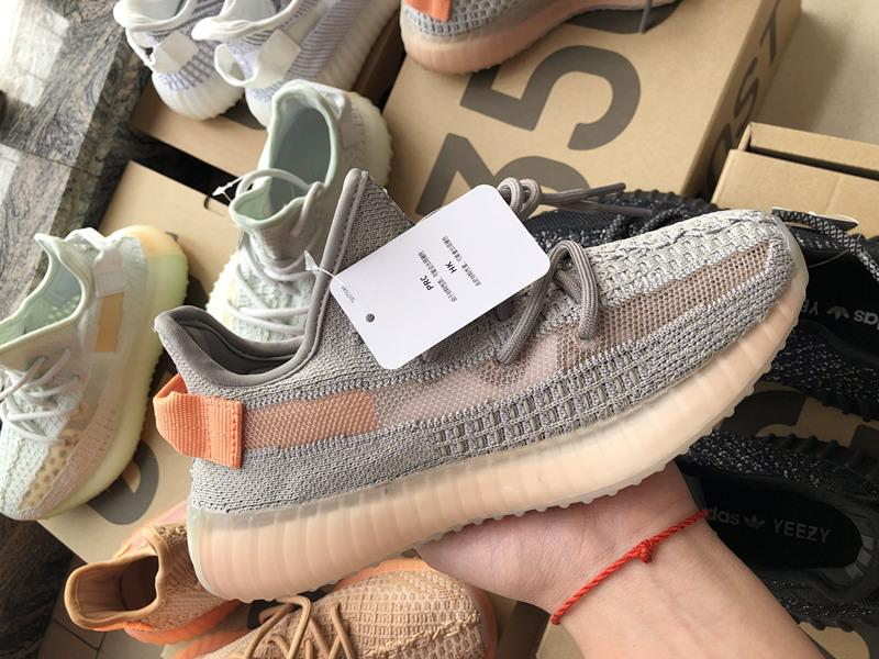 efa10bcd0 2019 2019 350 Boost V3 Clay Hyperspace Sesame Static Reflective Running  Shoes Kanye West Designer Brand Upper With Box Zyy23 From Lansely