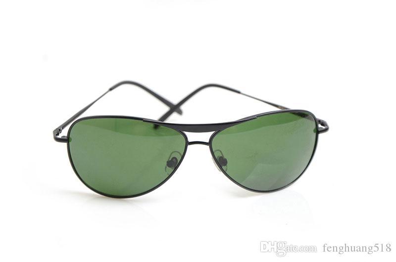 hohe Qualität 8015 Mans Sonnenbrille UV400 Frauen Sonnenbrille-Glas-Marken-Entwerfer-Sonnenbrille unisex Sonnenbrille New Classic Brillen Brille