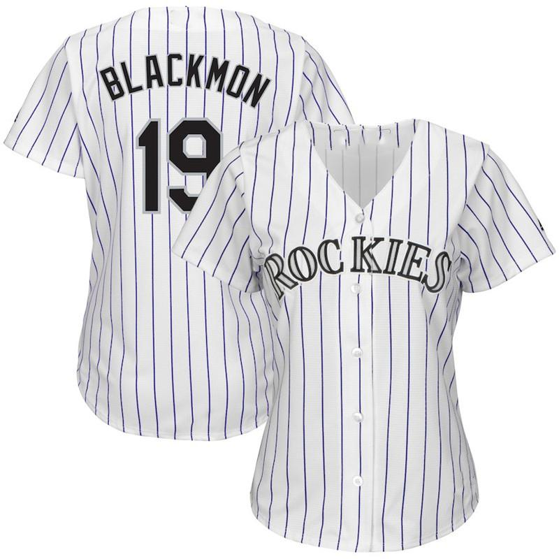 best sneakers 41e6b f9ca6 Womens Custom Rockies Jerseys Nolan Arenado Charlie Blackmon Trevor Story  Baseball Player Jersey
