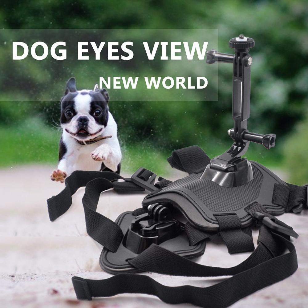 Pets Dog Harness Mount Chest Strap Shoulder Belt With Camera Holder for Insta360 ONE X/EVO Action Camera Dog Harness Mount