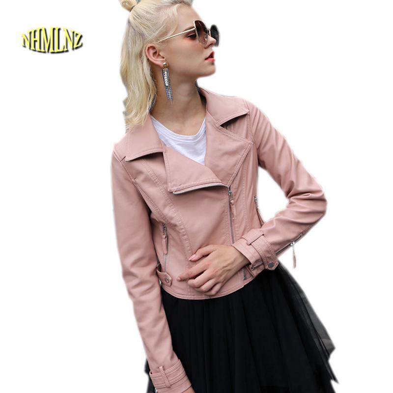 db3490fe1e49d 2019 Winter Genuine Leather Jacket New Women Jacket Plus Cotton Warm ...
