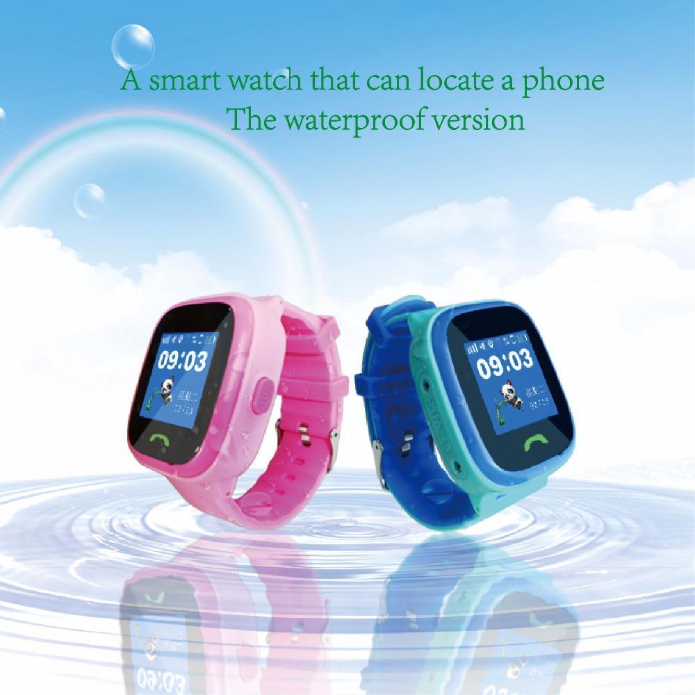 aed9742f2010 Relojes Chile Mart Watch Sos Q520 Niño Bebé Smartwatch IP67 Nadar GPS  Teléfono Táctil Reloj Inteligente SOS Ubicación De Ubicación Dispositivo  Rastreador ...