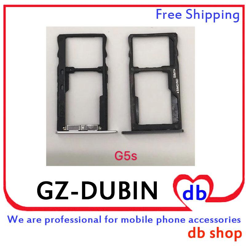 For MOTO G5S PLUS G5Splus X4 G6 PLAY G6PLAY SIM Card Memory SD TF Reader  Socket Holder Connector Slot Tray Part