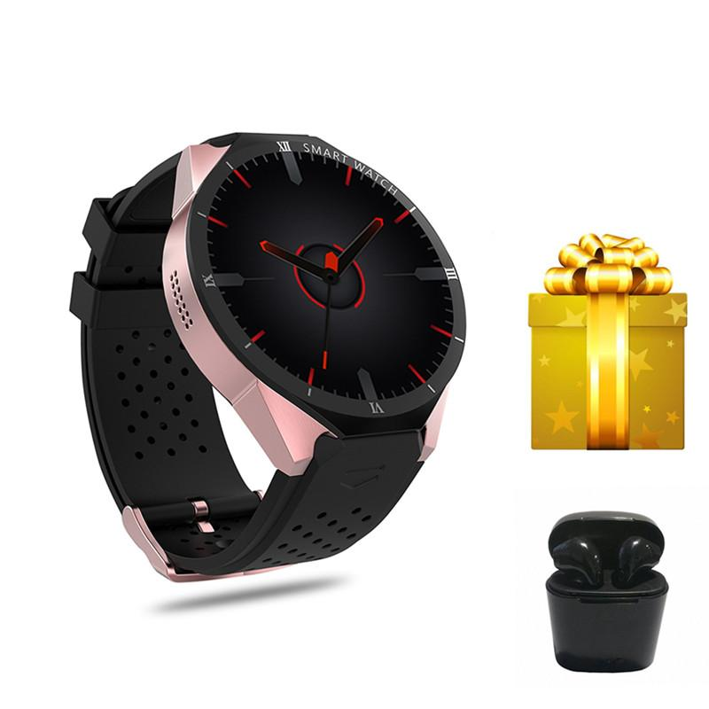3G GPS WIFI Smartwatch Android 7.0 os 1GB/RAM 16GB /ROM 2.0 MP Camera Heart Rate Monitor Smart Watch Men Women russian-version