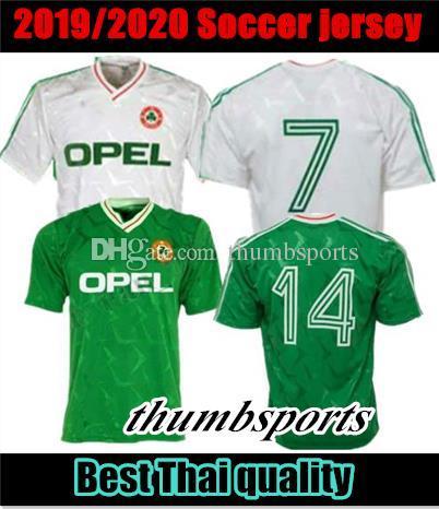 dc1526351 2019 10 Free DHL!1990 1992 Ireland Retro Soccer Jersey 1990 World Cup  Ireland Home Classic Jersey Vintage Irish Sheedy Size S XXL Football Shirts  From ...