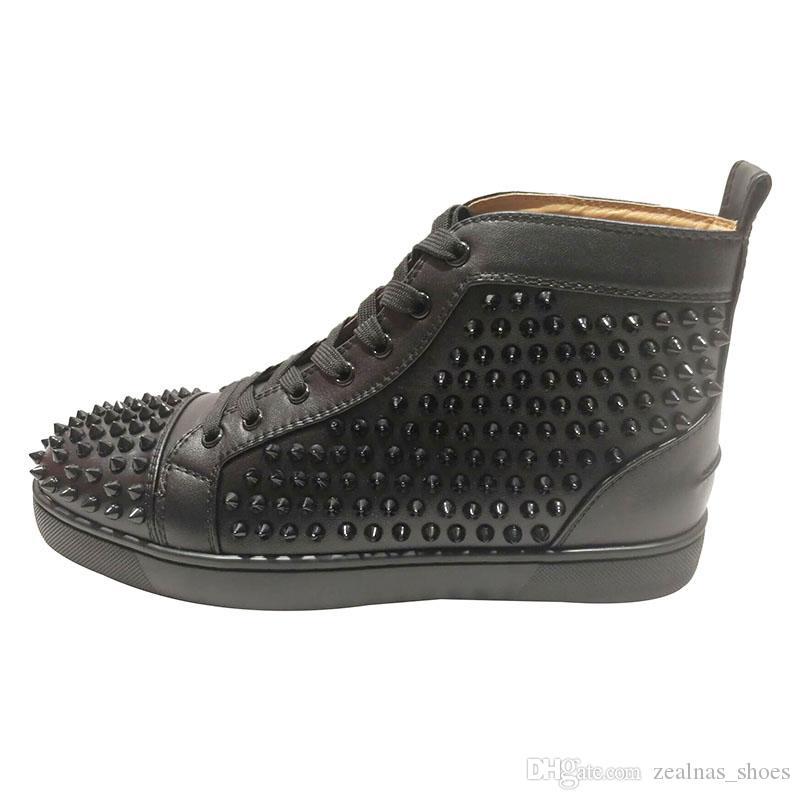 465e6efb61ca9 Acquista Scarpe Da Uomo Firmate Bottoms Rossi Uomo Fashion Designer Di  Lusso Scarpe Da Donna Mens Designer Di Lusso Sneakers Scarpe Con Fondo  Rosso A  70.76 ...