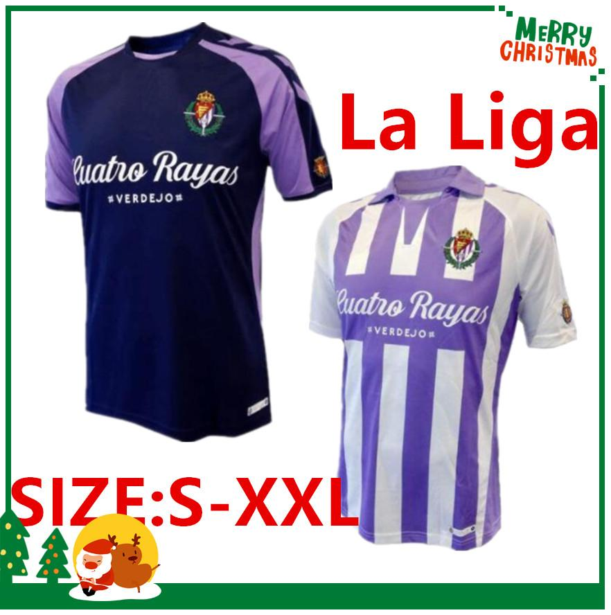 2019 Size S XXL 18 19 Valladolid Soccer Jerseys 2018 2019 HOME Away Real  Valladolid Jaime Mata Michel Borja Luismi Jaime Football Shirts From ... d7cd9c7a3
