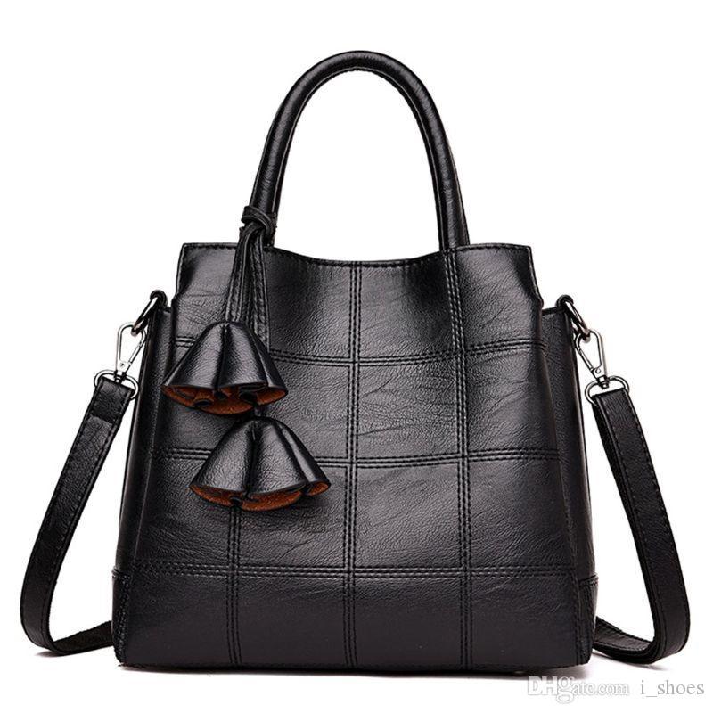 754b05c22c6 Women Leather Handbag Shoulder Bags Tote Purse Travel Messenger Hobo  Satchels Top Handle Bags #168556