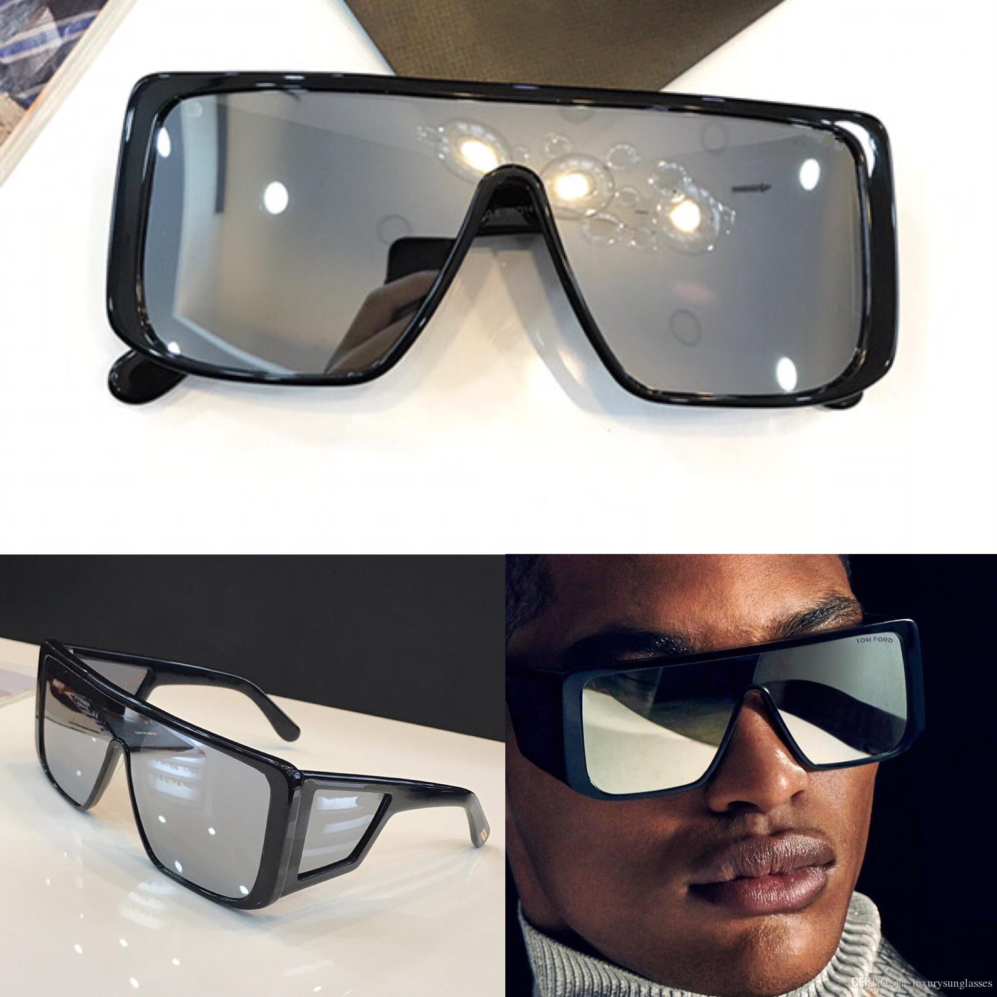 6e878b881454d Compre Nova Marca De Moda Designer De Óculos De Sol 0710 Praça Quadro  Tendência De Vanguarda Para Homens E Mulheres Top Quality Vendendo Uv400  Nobre Eyewear ...