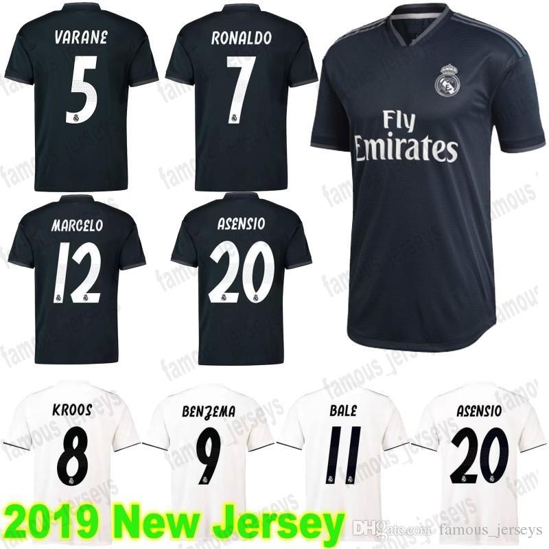 2e09704154f Grosshandel Real Madrid 7 Ronaldo 4 Ramos 8 Kroos 9 Benzema 10 Modric