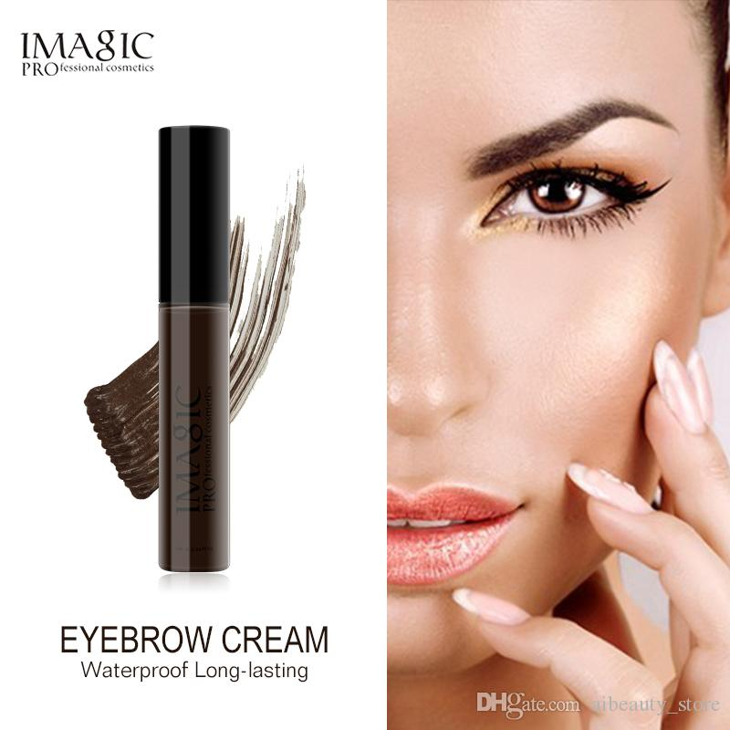 baf6d3f88f4 IMAGIC Long Lasting Waterproof Eyebrow Mascara Cream Eye Brow Shadow ...