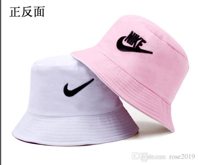 218681ac9 Fashion Wide Brim Women Summer Cotton Foldable Hats Polka Dot Casual Bucket  Hat Lady Visors fisherman Cap Floppy Beach Sun fishing Hat