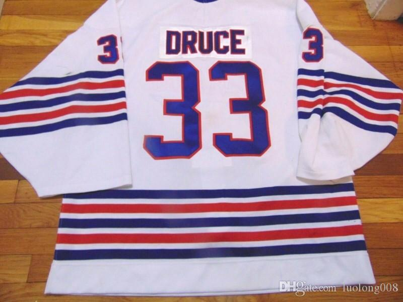 84b52dcf4 2019 OSHAWA GENERALS KEVIN DRUCE Hockey Jersey Embroidery Stitched  Customize Any Number And Name Jerseys From Luolong008