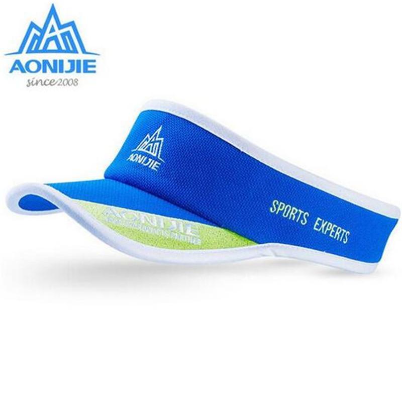 AONIJIE Antisweat Sports Hat Running Empty Cap Marathon Adjustable ... 378c3b54ef4f