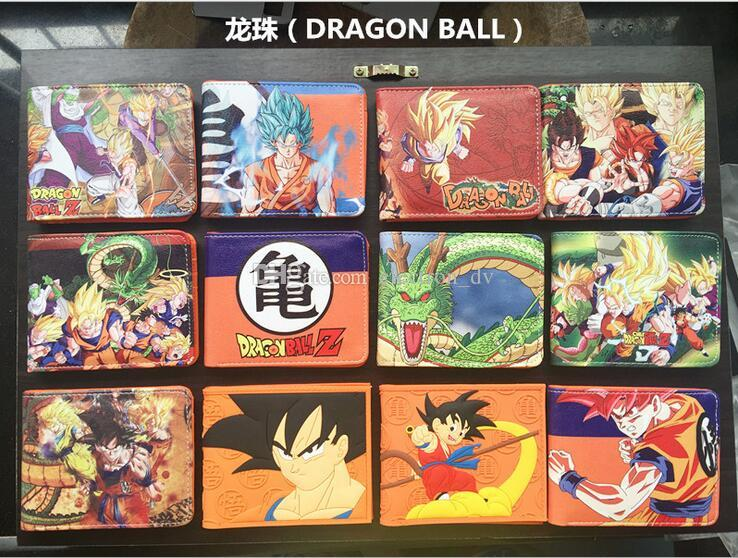 Dragon Ball Sun Wukong Saiyan Dragon Ball Z Vegeta Bik Grand Diable Dieu Dragon Anime Portefeuille Portefeuille