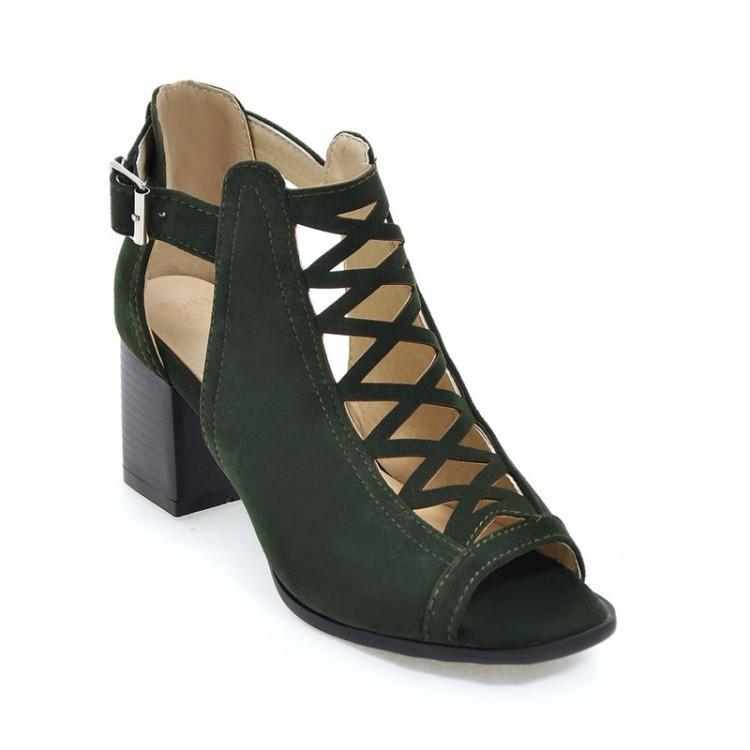De Mujer 4043 Tamaño Tacón Gran Para Compre Alto Zapatos Y yf67gb