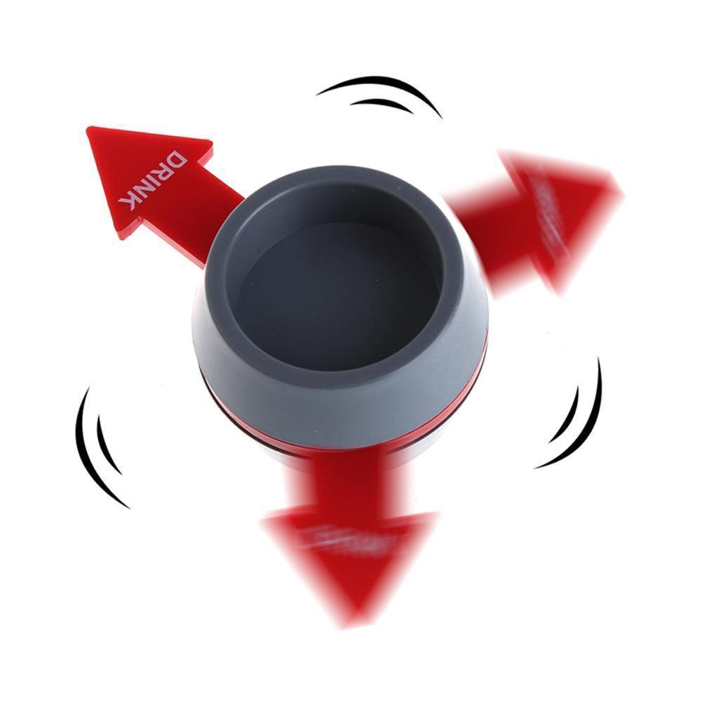 Pointer Turntable Bar Fournitures Divertissement Boisson Jeux à Boire avec Red Spin Tir catégorie
