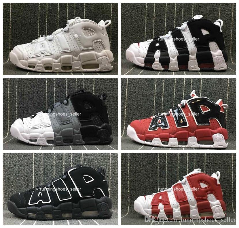 5c91a01701a Compre 2019 Chaussures Nike Air Mais Uptempo Mulheres Mens Tênis De  Basquete