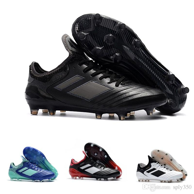 new style a2e83 6da7e 2019 2019 Soccer Cleats Copa 18.1 FG Soccer Shoes New Arrival Mens Leather  Copa MD Mundial 18 Chaussures De Football Boots Scarpe Calcio From Sply350,  ...