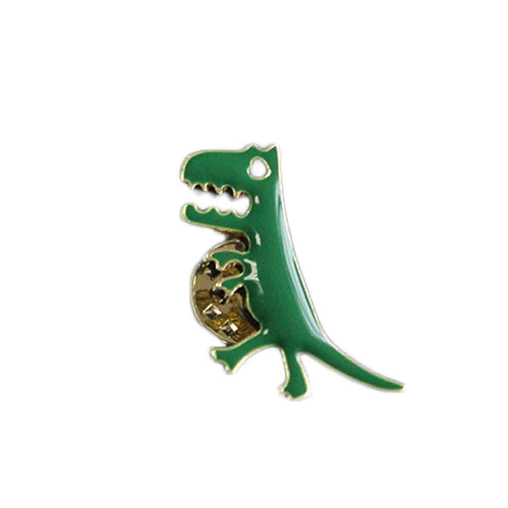 Lot Fashion Jewelry Accessories Enamel Metal Dragon Dinosaur Badge Button Pins
