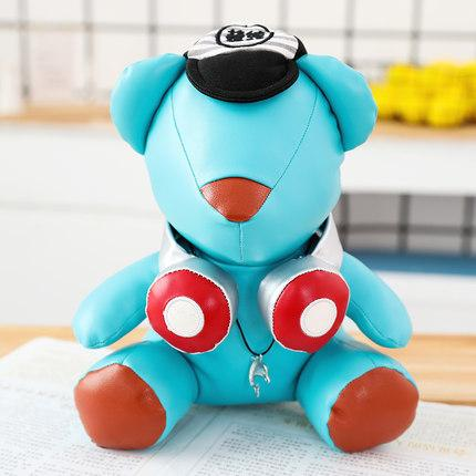 20170729 Handsome DJ Headphones Bear Plush Toys And Gifts Stuffed Animals 2019 Hot Sale Material Is Pure Cotton