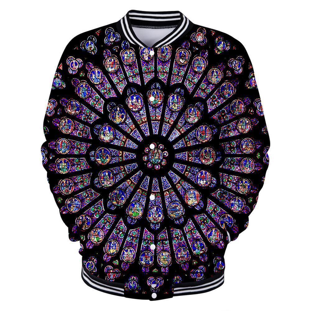 Grosshandel Hip Hop Torte Notre Dame De Paris Hoodies Sweatshirt 3d