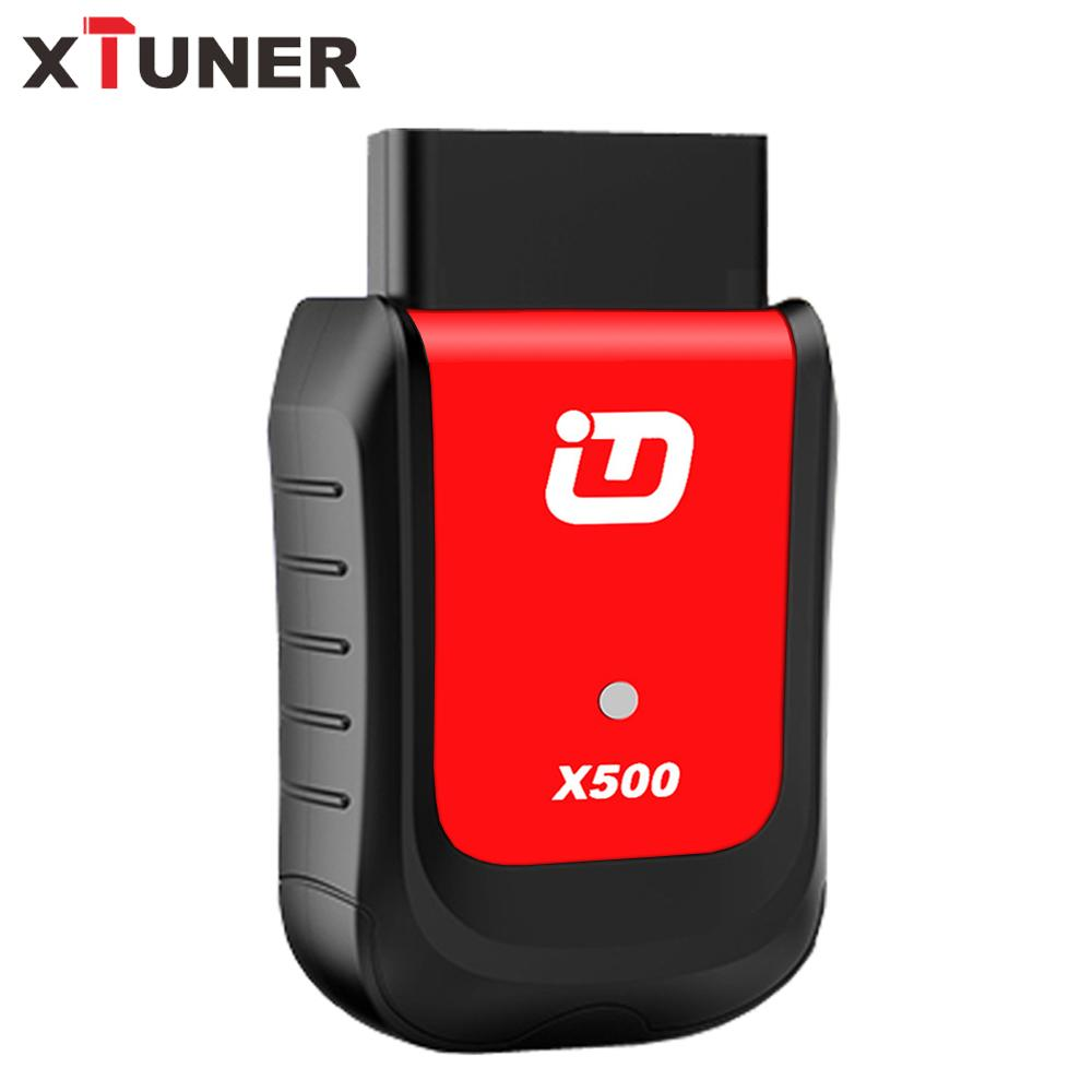 XTUNER X500 OBD2 Scanner Bluetooth Android Code Reader ODB2 Easy Diag ABS  EPB DPF OIL Serivce Reset Diagnostic Tool Throttle OBD