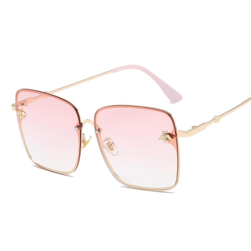 39b0741eb7a5 2019 Oversize Square Sunglasses Men Women Celebrity Sun Glasses Male  Driving Superstar Luxury Brand Designer Female Shades UV400 Custom  Sunglasses Heart ...
