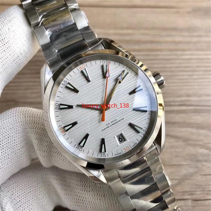 Luxury Watches Stainless Steel Bracelet Aqua Terra 150m Master 42.5mm Stainless Steel 23110422101004 41.5mm MAN WATCH Wristwatch