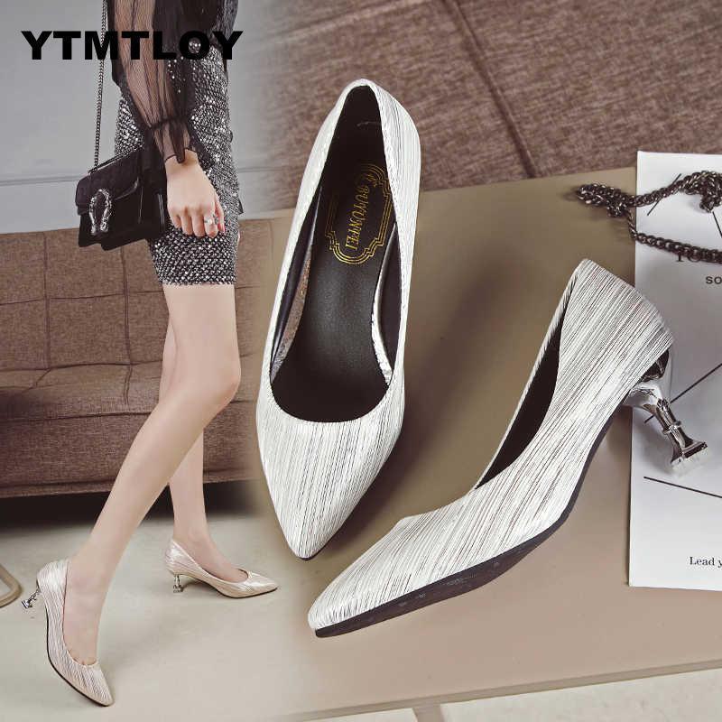 d90a71f413a9 Dress Fashion Buckle Crystal Bling Pumps Women Elegant Thin High Heels  Point Toe Party Wedding Shoes Woman Sexy Bridal Pumps Stiletto Dansko Shoes  Tennis ...
