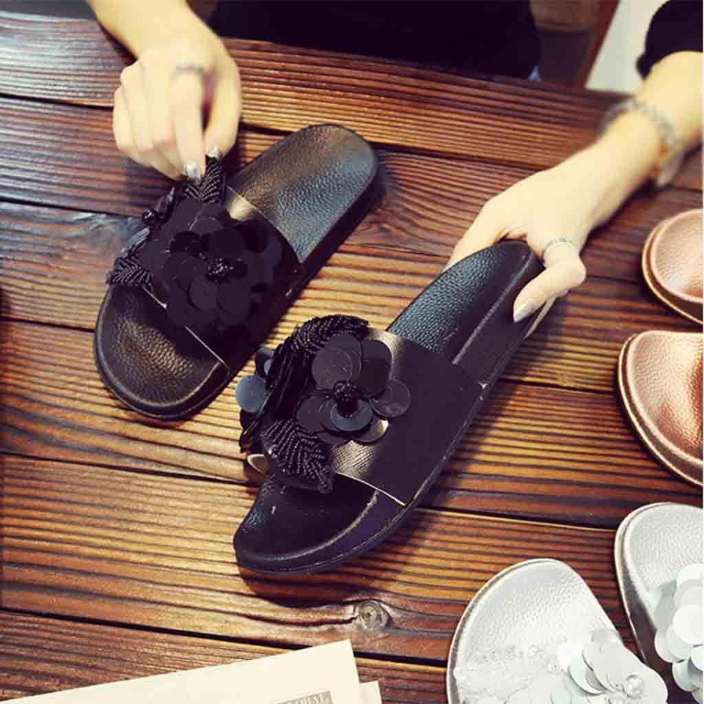 Nouveau Femmes Fourrure Diapositive Cute Slipper Plates Confortables Chaussures Fausse Fourrure Sandale vente