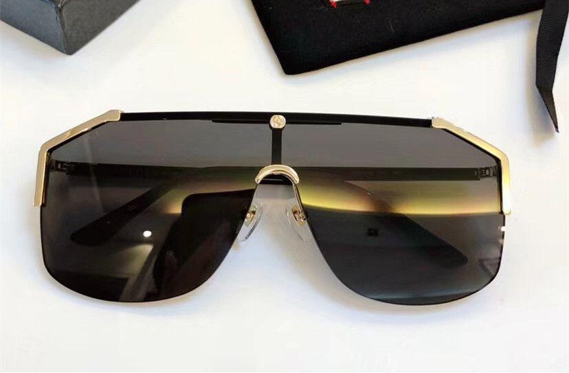 bc981bc495 Compre GUCCI 0291 Tendencia De Moda Gafas De Sol Retro Con Montura  Brillante Para Mujer Gafas Para Hombre Gafas De Sol Gafas De Montar De Lujo  De Buena ...