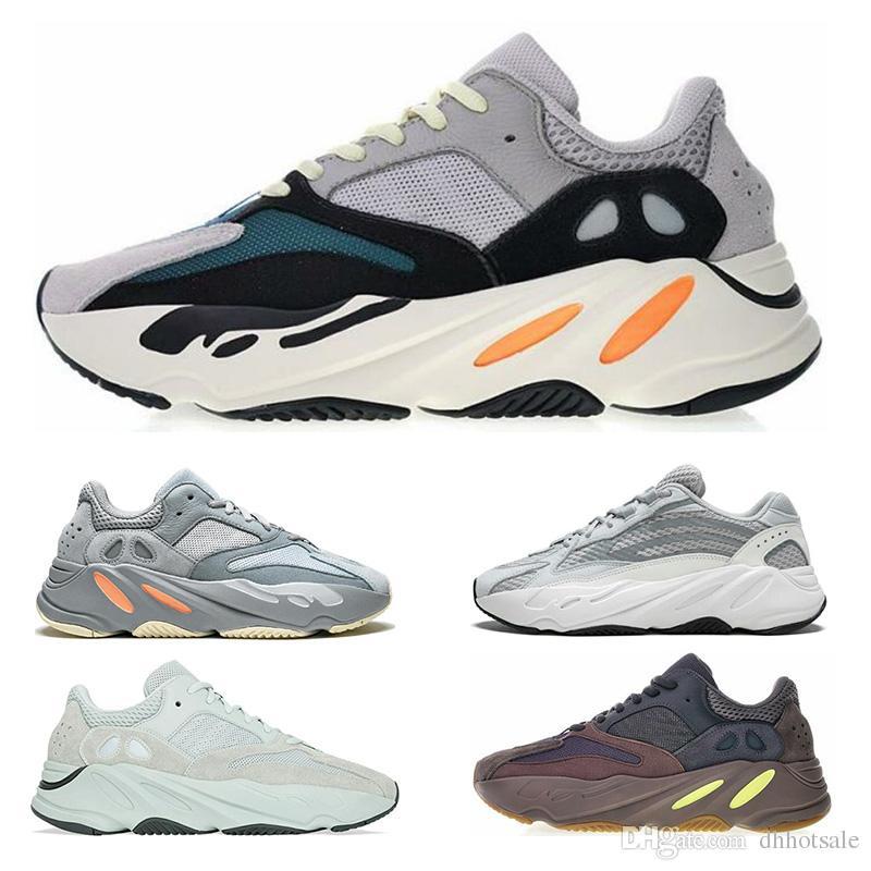 Adidas yeezy 700 shoes 2019 luxus 700 Runner Kanye West Wave Laufschuhe 700 V2 Herren Damen Sportlich Sportschuhe Trainer Turnschuhe Schuhe Eur 36 45