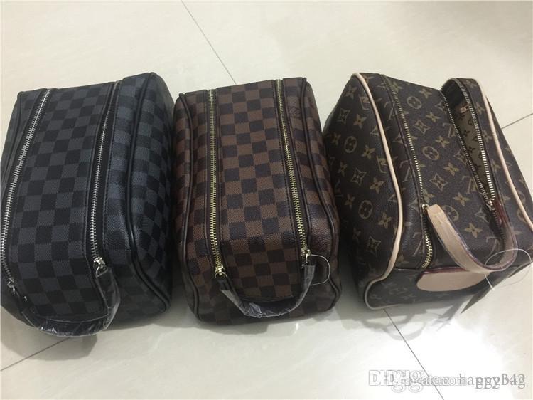 e77b45293d3e Women cosmetic bags organizer fashion brand makeup bag designer travel  pouch make up bag ladies cluch purses organizador toiletry bag 4pcs