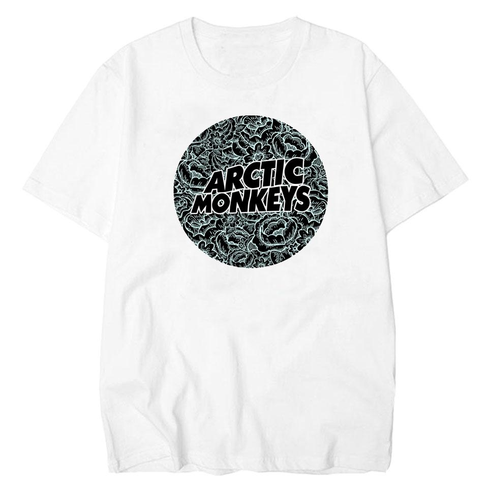 3e5718a2106 Lettbao Arctic Monkeys Cotton Tee Shirt Men Band Mens Tshirt Summer White  Harajuku Hip Hop Tee Basic T-shirt Printed T Shirt Online with  30.94 Piece  on ...