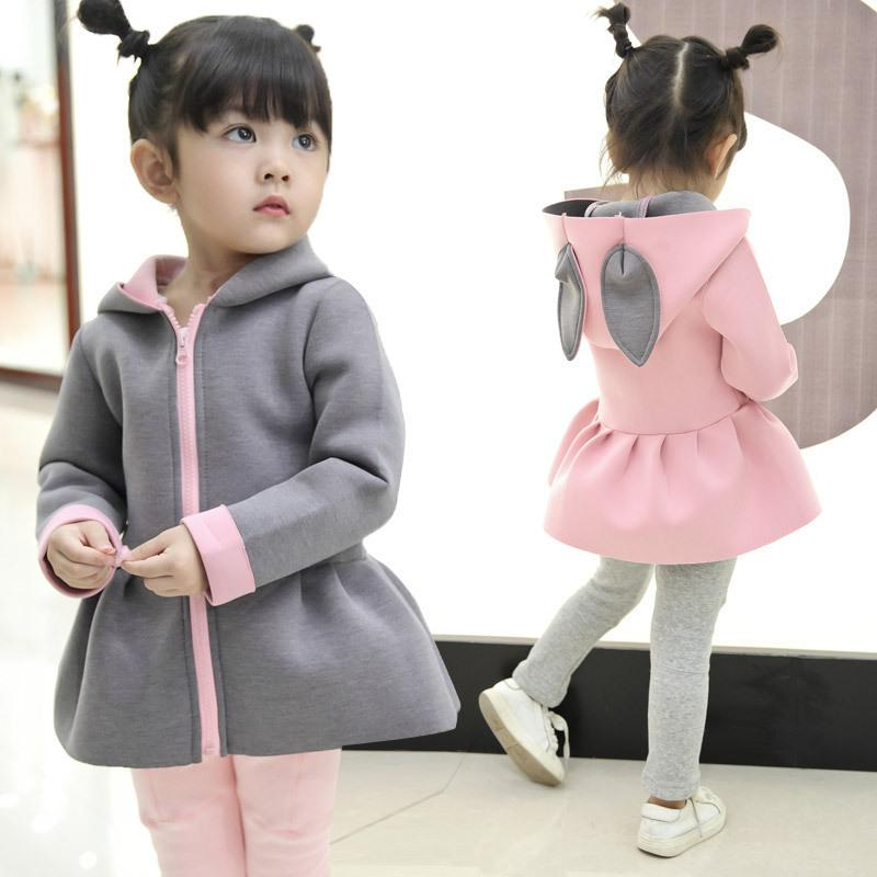 2e6d2120 1 5T Winter Autumm Coats Baby Girls Kids Cute Casual Outerwear Casual Clothes  Children Warm Coats Fashion Girl Clothing Girls Quilted Jacket Best Kids ...