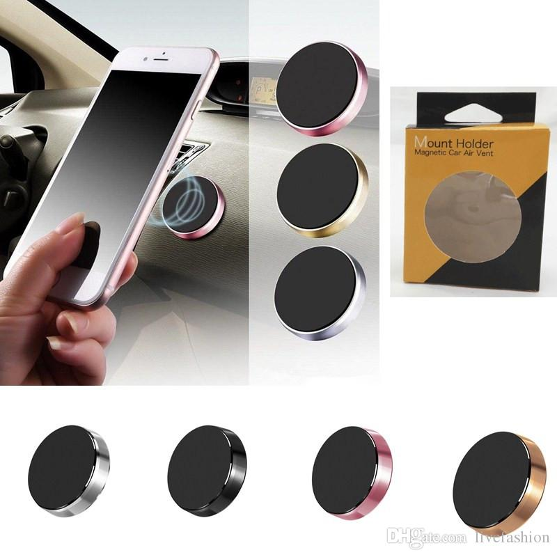 Car Phone Magnetic Holder Mobile Smartphone Stand Magnet Support Cell  Cellphone Telephone Mount Holder in Car GPS Desk Wall