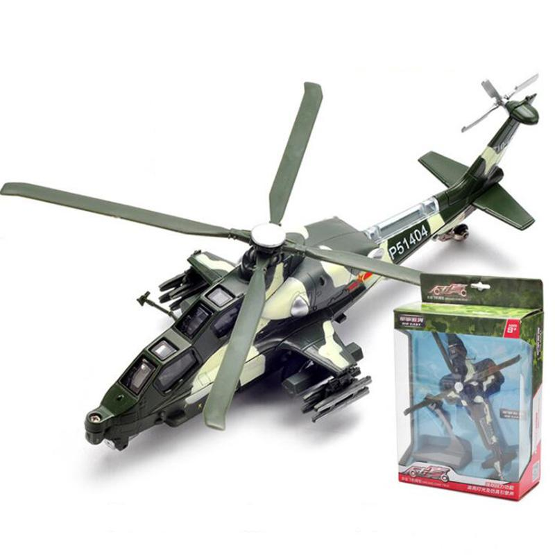 1/72 scale 29CM pull back helicopter Millitary model Army fighter aircraft airplane models adult children kids toys
