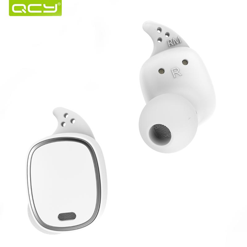 603cea2e328 QCY T1 Pro TWS Bluetooth Earphones Touch Control Wireless Headsets Mini  Invisible Earbuds With Mic And 750mAh Charging Case Mobile Headsets  Telephone ...