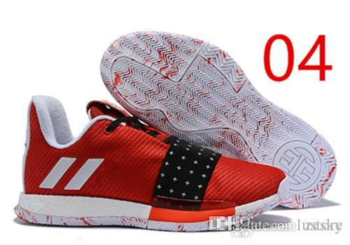 dbf48202bd78 Cheap 2019 SALE Harden Vol. 3 MVP Basketball Shoes Men Red Grey Black James  Harden 3s III Outdoor Trainers Sports Running Shoes Zesky