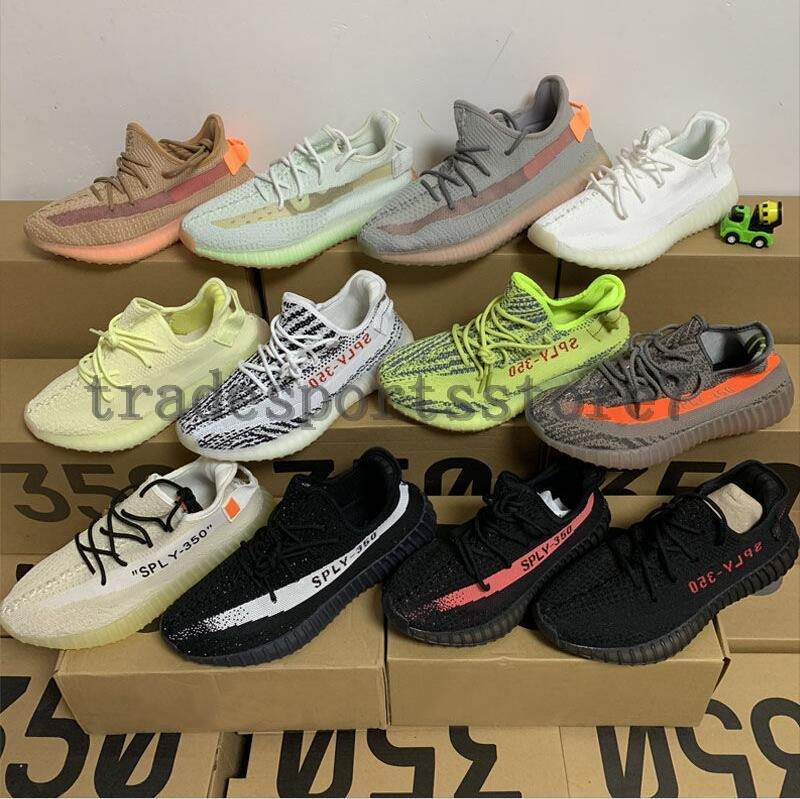 detailed look 6a616 94e71 2019 New 350 Casual Running Shoes Black Red Kanye West yeezy yeezys yezzy  yezzys 350 v2 Sports Sneakers Shoes us 5-11.5