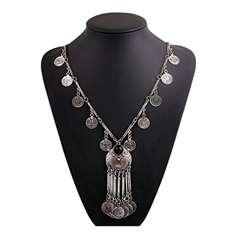 Necklace Bohemian ethnic tribal jewelry dance