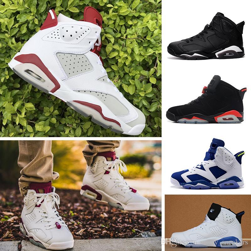 pretty nice c78a0 152a8 Acquista Nike Air Jordan 1 4 6 11 12 13 Retro 6s CNY China Year Scarpe Da  Basket Da Uomo Slam Dunk Pantone GS Pinnacle Verde Bugs Bunny Da Uomo  Sportivo ...