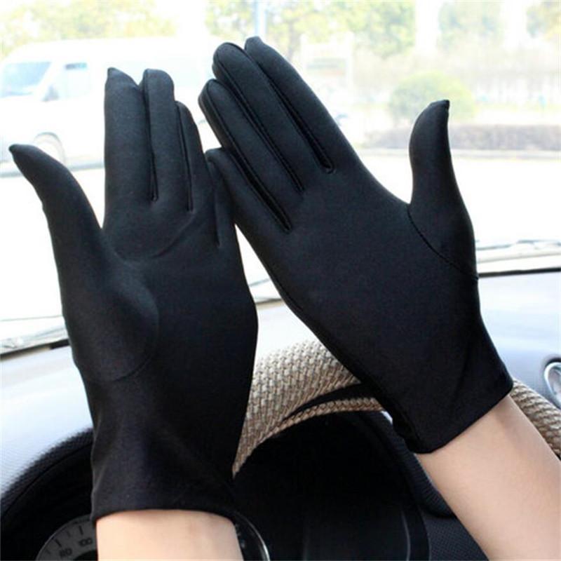 78b0fcf04156b1 Großhandel 1 Paar Dünne Touchscreen Handschuhe Frauen Männer Warme Stretch  Spandex Handschuhe Unisex Schmuck Foto / Fahren / Party Volle Finger Von  Watercup ...