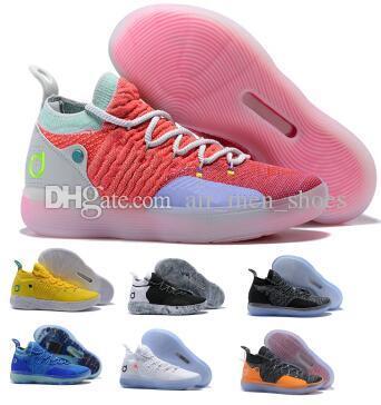 info for 71c96 e5ac5 Großhandel Still Kd 11 11s Basketballschuhe Sneakers 2019 Herren Orange  Multi Eybl BHM Kevin Durant XI Oero Schaummann Sport Trainer Sportschuhe Von  ...